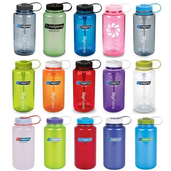 Nalgene bottles - smoothie bottles - colored bottles - Fruit-Powered Store