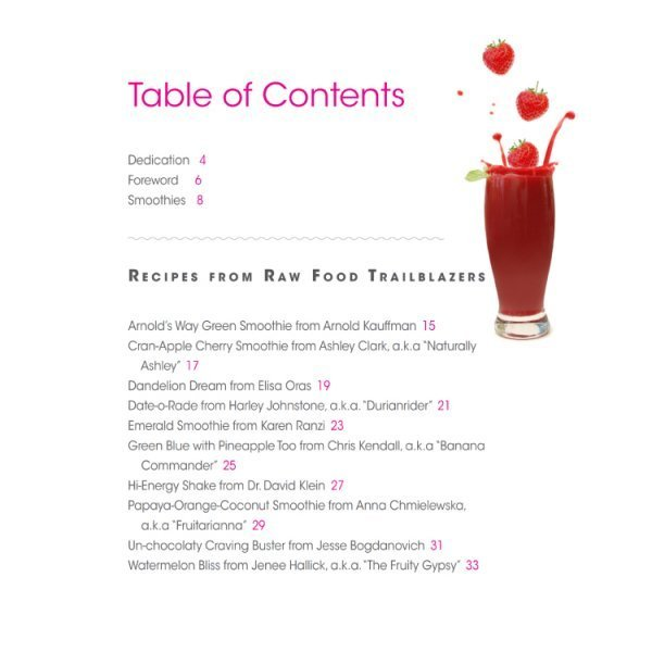 Smoothies: Mouthwatering Recipe Book Series by Brian Rossiter - table of contents 01 - Fruit-Powered Store