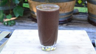 Recipe for Fruit and Green Smoothie from Rick and Karin Dina