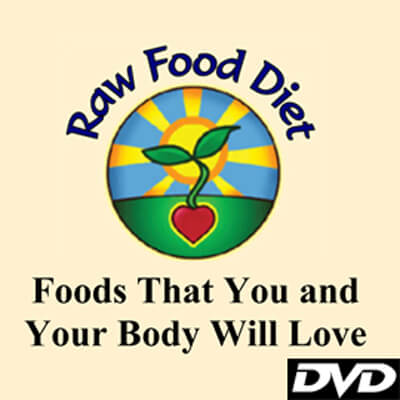 Raw Food Diet: Foods That You and Your Body Will Love by Don Bennett - cover - health movies and raw vegan movies - Fruit-Powered Store