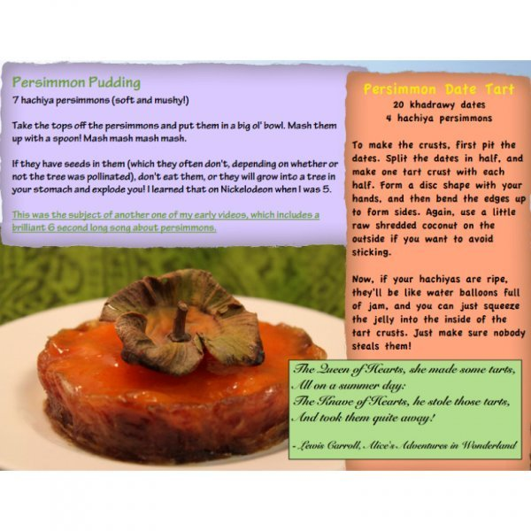 Stupidly Simple Raw Food Recipes by Josh Fossgreen - Persimmon Pudding Recipe - Fruit-Powered Store