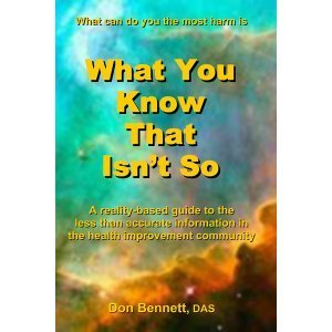 What You Know That Isn't So by Don Bennett - front cover - health education guide - Fruit-Powered Store