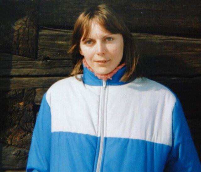 Kvetoslava Martinec is photographed at 28