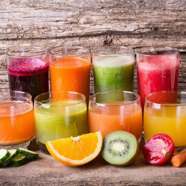 Champion Juicers - colorful juices made from fruits and vegetables - Fruit-Powered Store