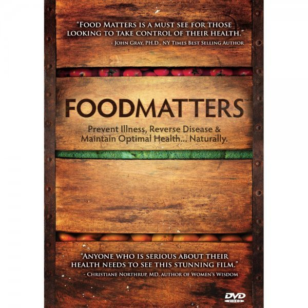 Food Matters movie - front cover - Fruit-Powered Store