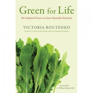 Green for Life by Victoria Boutenko - front cover - green smoothie book - Fruit-Powered Store