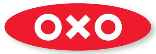OXO mandoline slicers - OXO logo - Fruit-Powered Store