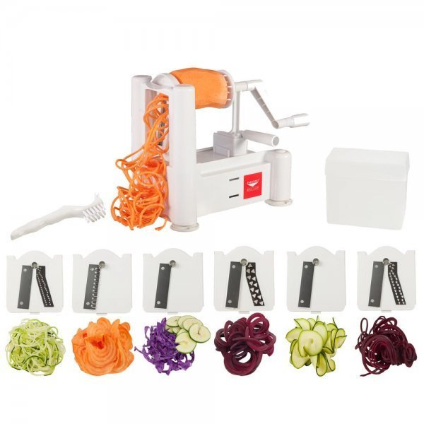 Paderno Spiral Vegetable Slicers - spiralized vegetables - zucchini spaghetti - Fruit-Powered Store