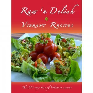 Raw 'n Delish Vibrant Recipes by Dr. David Klein - front cover - Fruit-Powered Store