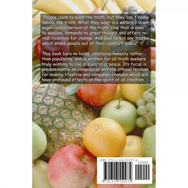 The Eden Fruitarian Guidebook by Mango Wodzak - back cover - Fruit-Powered Store
