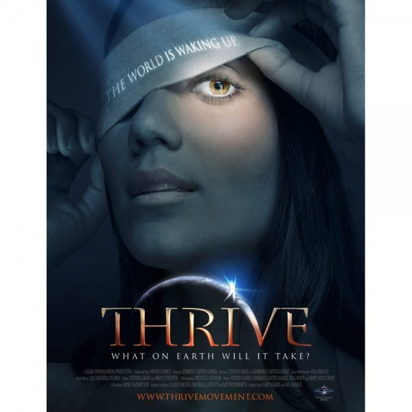 Thrive movie - front cover - consciousness movies - Fruit-Powered Store