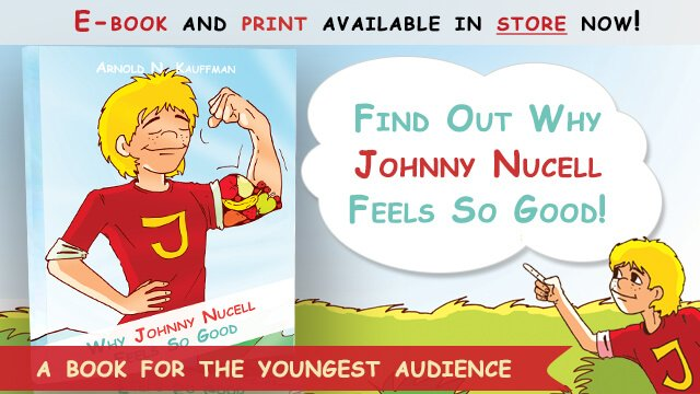 Why Johnny Nucell Feels So Good by Arnold Kauffman - cover banner - Fruit-Powered Store