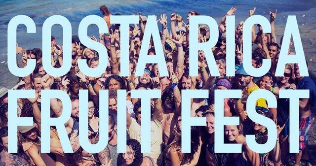 Banner for the Costa Rica Fruit Festival