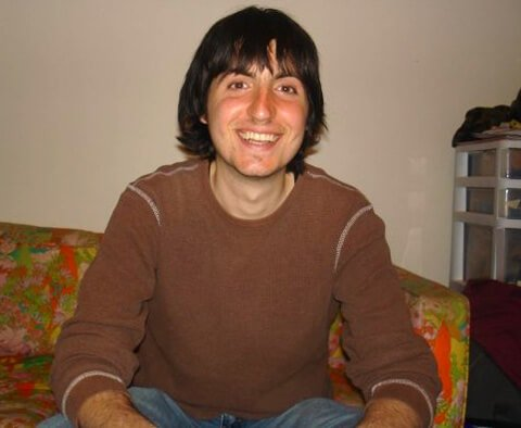 Francesco Barone is photographed in 2009 while on a restricted-calories diet