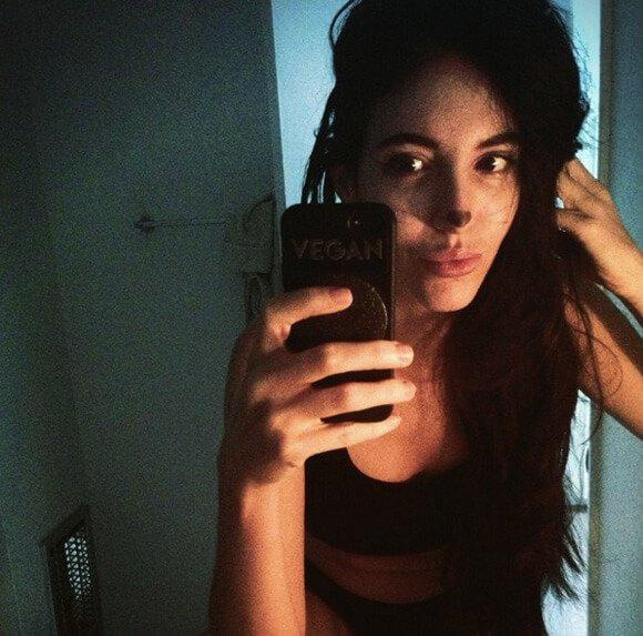 Jenny Lapan takes a selfie