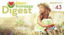 August 2016 Fruit-Powered Digest greetings
