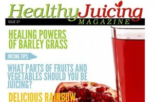 Front cover of Issue 37 of Healthy Juicing Magazine