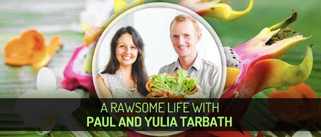 Guest Stories banner for A Rawsome Life with Paul and Yulia Tarbath