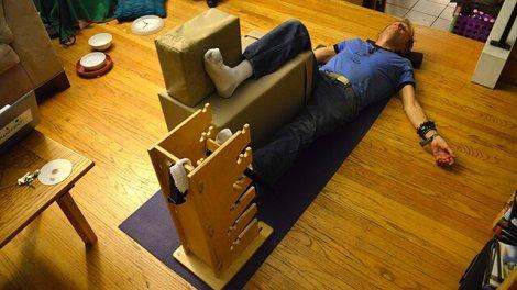 Arnold Kauffman practices Supine Groin Progressive