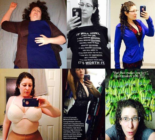 Rebecca Rosenberg in a collage photo