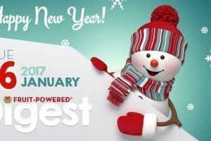 January 2017 Fruit-Powered Digest greetings