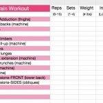 Jennifer Lapan's workout card - 05