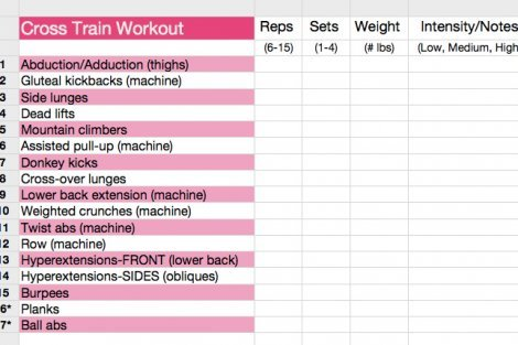 Jennifer Lapan S Workout Card 05