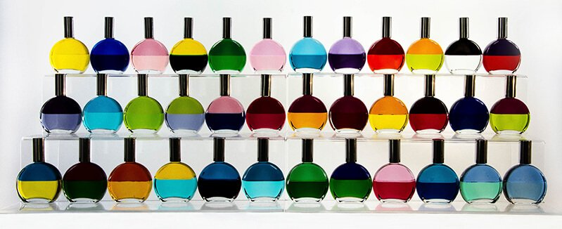 An eye-popping array of Color Mirrors