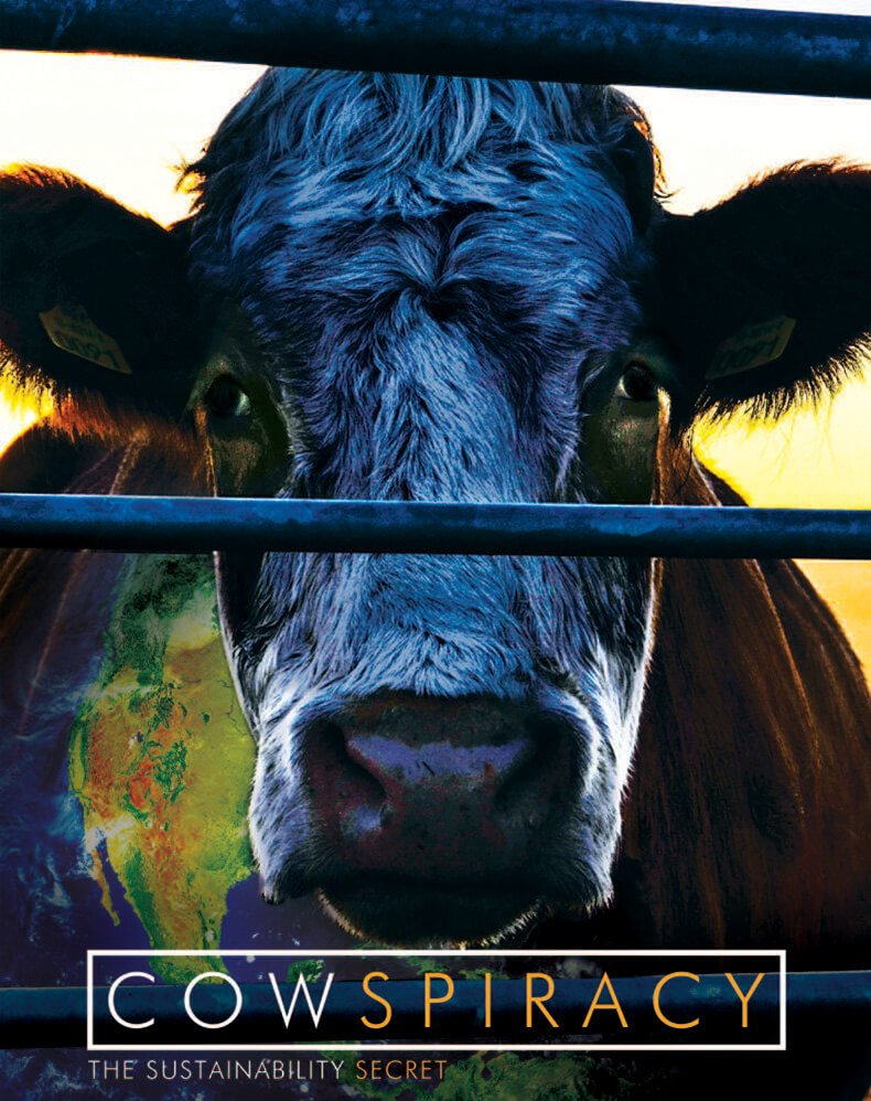 Poster for the film Cowspiracy