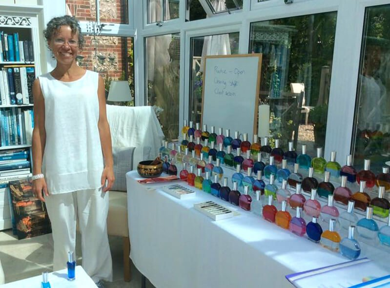 Korani Connolly at a Color Mirrors practitioner course