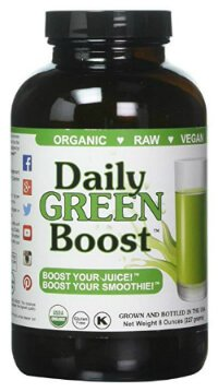 Daily Green Boost bottle - barley grass juice powder - Fruit-Powered Store