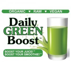 Daily Green Boost logo - barley grass juice powder - Fruit-Powered Store
