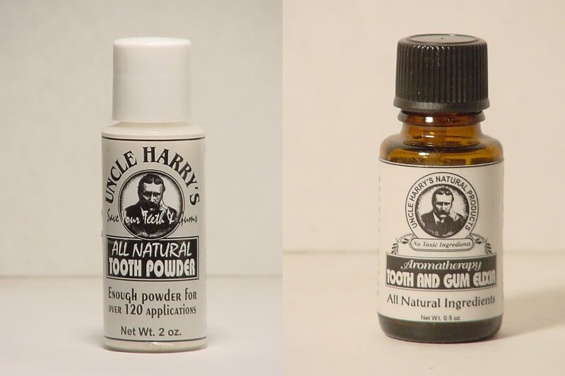 Uncle Harry's Natural Products items for dental care