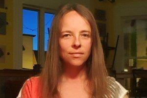 Danielle McGrogan is photographed in February 2017 before revisiting Dan McGrogan