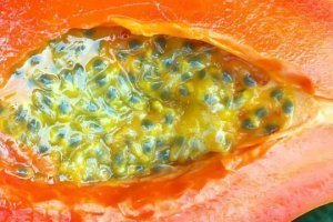 Papaya with Passion Fruit recipe from Nicolas Dudet