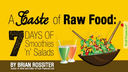 About Fruit-Powered - A Taste of Raw Food by Brian Rossiter