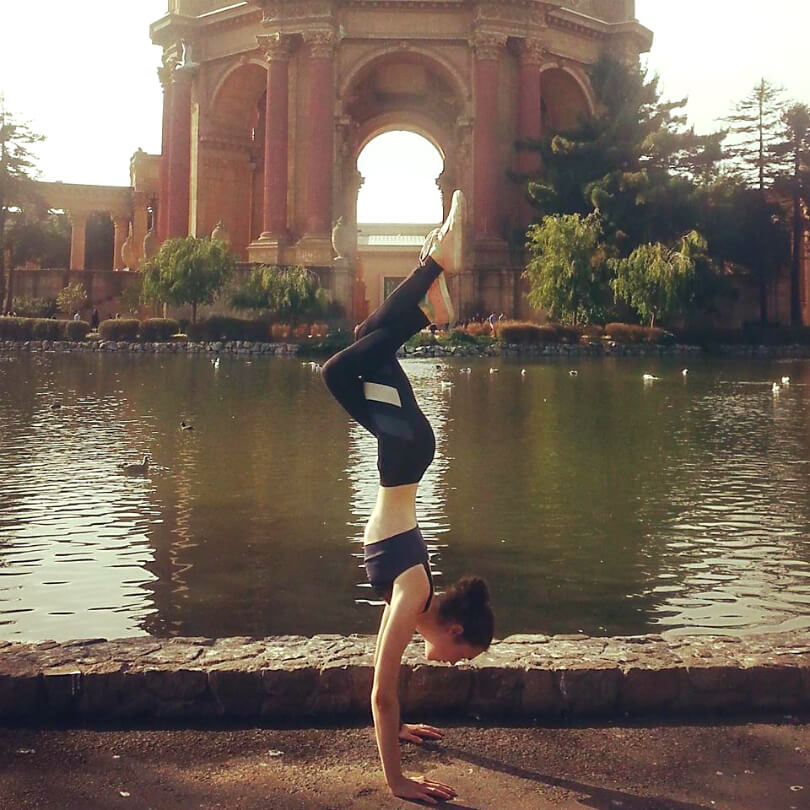 Aliyah Washington exhibits balance while practicing yoga - Tips for Transitioning to a Raw Food Diet Intelligently