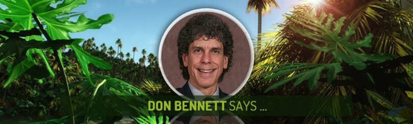 Don Bennett Says - Fruit-Powered