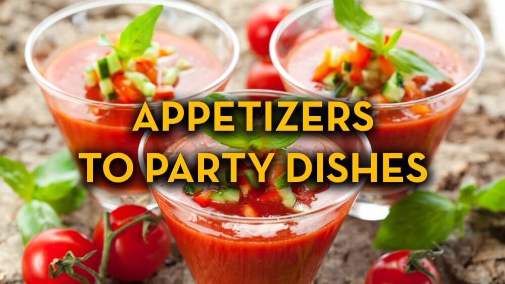 Appetizer Recipes to Party Dish Recipes - Raw Vegan Recipes - Fruit-Powered