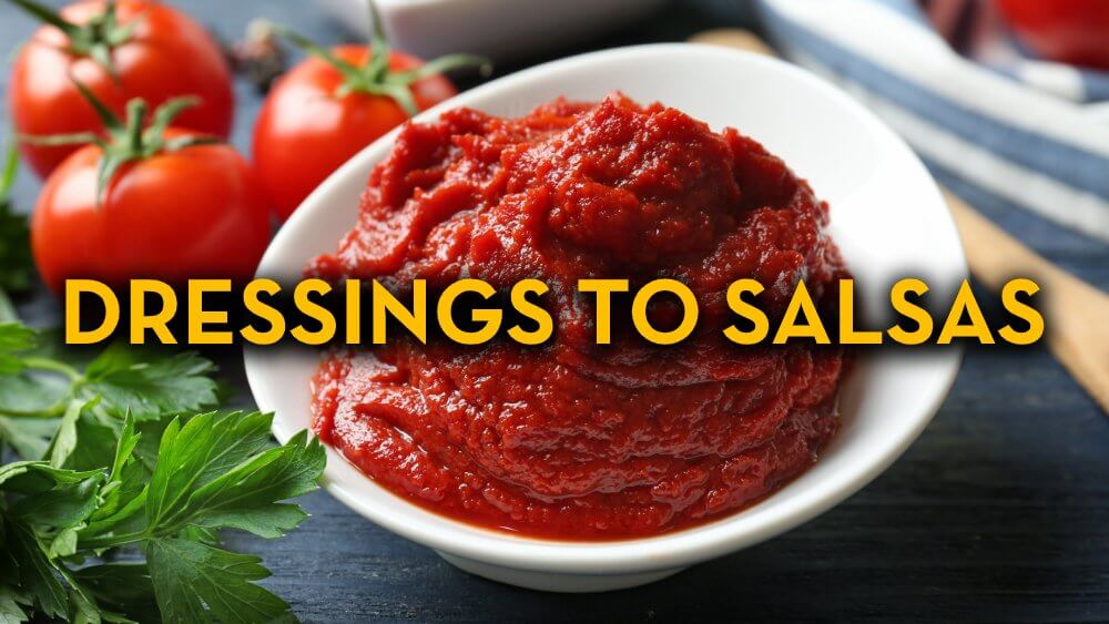 Dressing Recipes to Salsa Recipes - Raw Vegan Recipes - Fruit-Powered