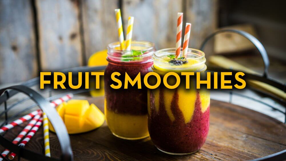 Fruit Smoothie Recipes - Raw Vegan Recipes - Fruit-Powered