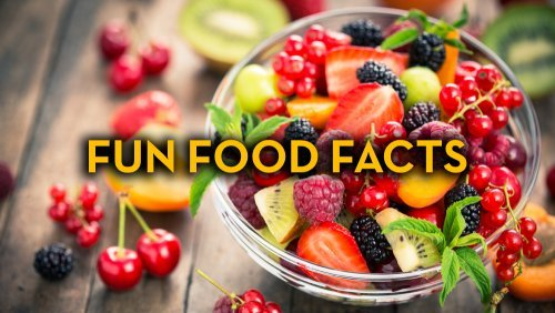 Fun Food Facts - Fruit-Powered