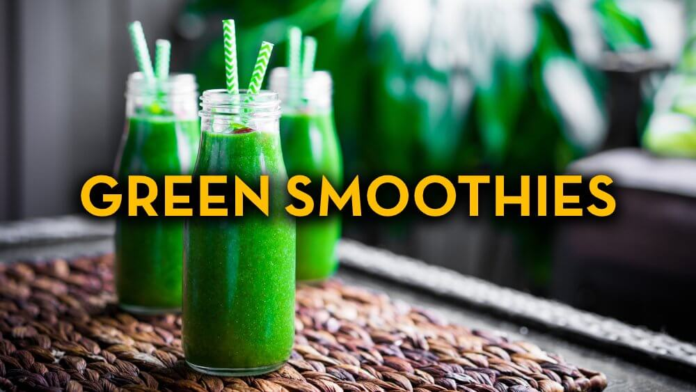 Green Smoothie Recipes - Raw Vegan Recipes - Fruit-Powered