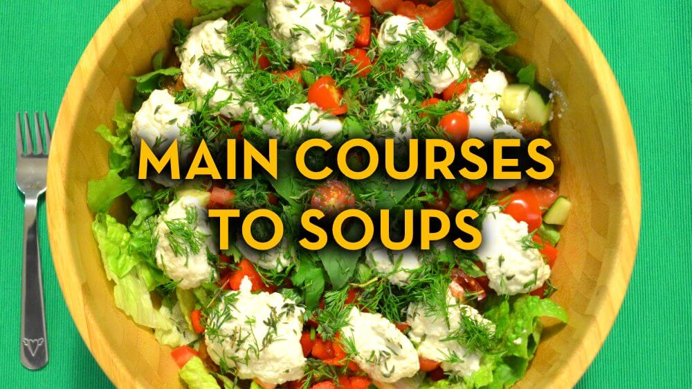 Main Course Recipes to Soup Recipes - Raw Vegan Recipes - Fruit-Powered