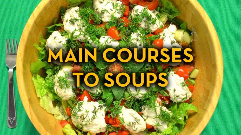 Main Course Recipes to Soup Recipes - Raw Vegan Recipes - Fruit-Powered