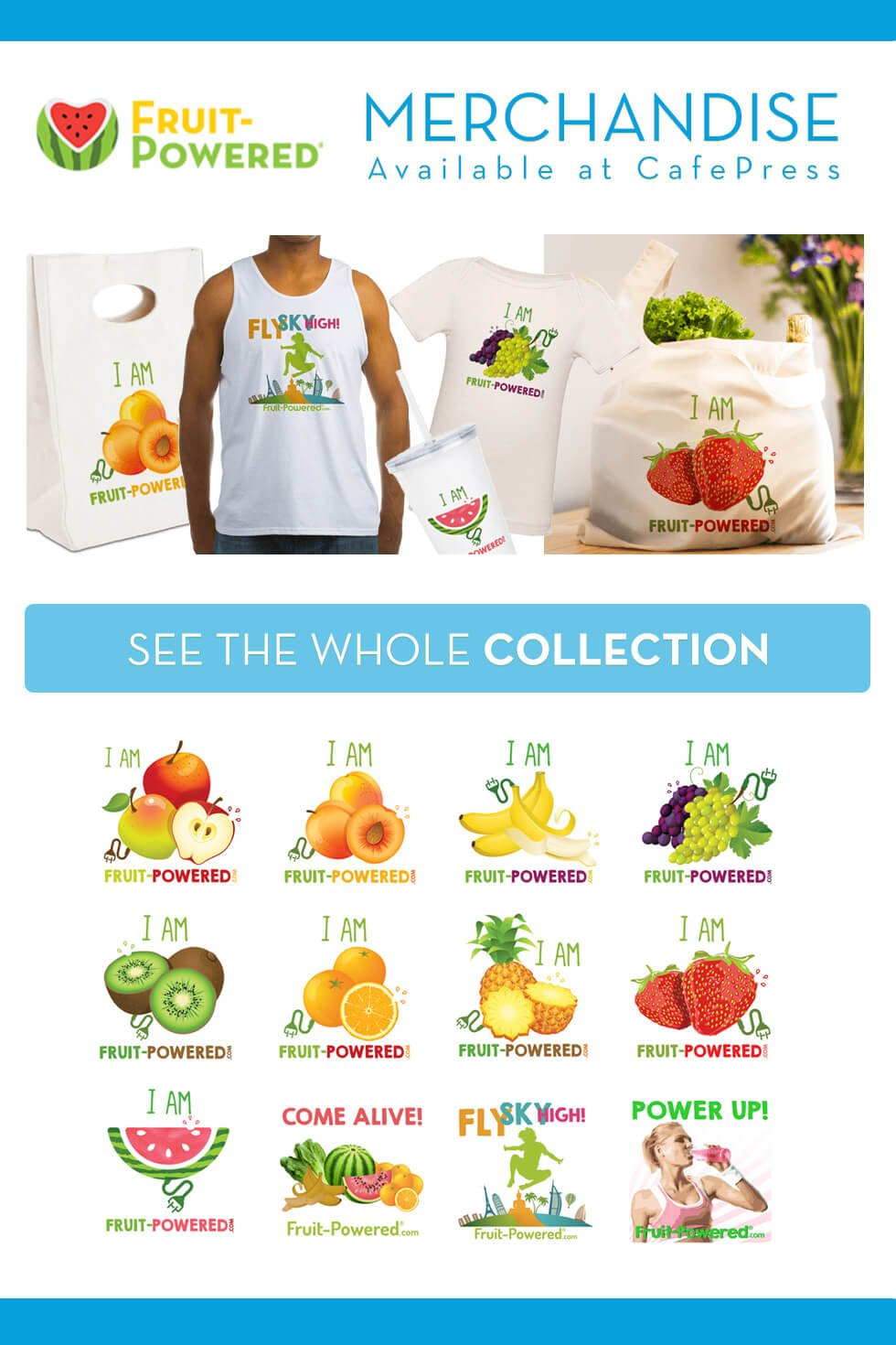 Attract Attention and Help Inspire Conversation About Positive Lifestyle Changes by Wearing Fruit-Powered Merchandise's Raw Vegan T-Shirts and Other Raw ...