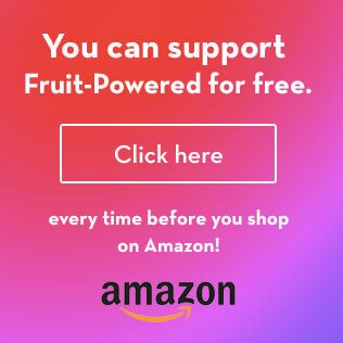 Amazon banner - sidebar - Fruit-Powered