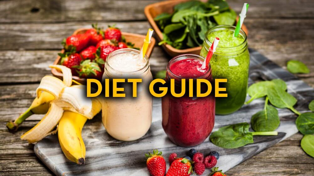 Diet Guide - Fruitarian Diet - Fruit Diet - Low-Fat Raw Vegan Diet - Smoothies - Fruit-Powered