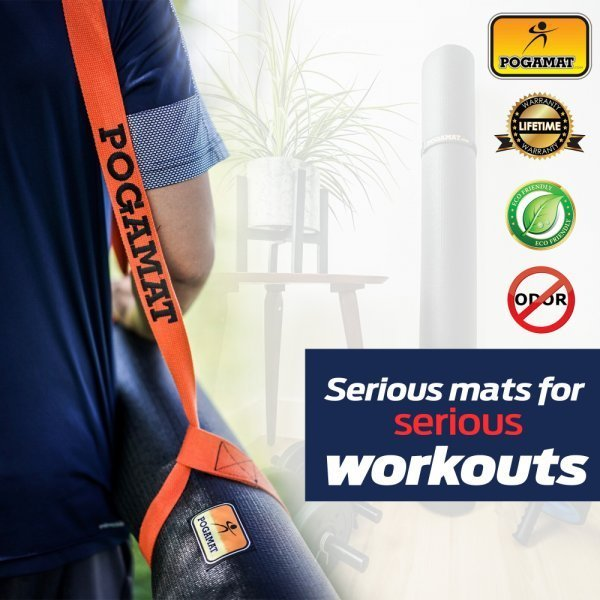 Pogamat Anti-Tear Cardio Mats and Yoga Mats - exercise mats - workouts - Fruit-Powered Store