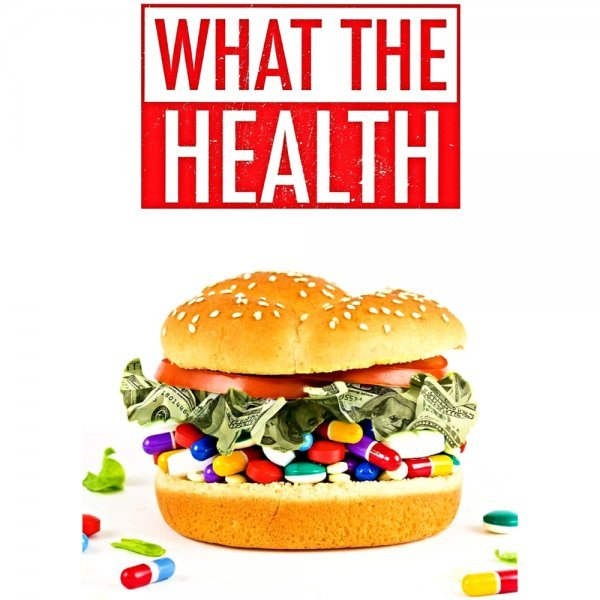What the Health from Kip Andersen and Keegan Kuhn - front cover - vegan movies - Fruit-Powered Store